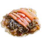 松前漬け (500g) 北海道産 北海道加工 天然 ボイルズワイガニ足 棒肉むき身入 特上