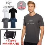 ARC'TERYX 男性用 Tシャツ アークテリクス  ARC'WORD SS T-SHIRT アークワード Tシャツ メンズ クルーネック 22447 maka2購入可能 3,580円