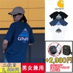 新品!カーハート carhartt Tシャツ 半袖 メンズ レディス 男女兼用 3色 ホワイト ブラック ブルー 色選択可   並行輸入品 送料無料