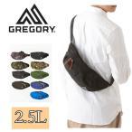 GREGORY グレゴリー ボディバッグ TAILRUNNER 1041  2.5L BLACK ブラック テールランナー ウエストバッグ 男女兼用 メンズ レディース 送料無料