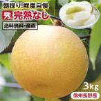 梨 長野産 幸水・豊水 完熟なし 送料無料 秀品 3kg。産地直送 こだわりの甘い梨 旬の果物 ギフト お取り寄せ