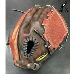 アシックス (asics) 野球 一般軟式グローブ グラブ MAJOR STYLE メジャースタイル 投手用 ピッチャー 限定品 21aw ブラック×クレナイ 3121A810
