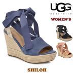 アグ オーストラリア UGG Australia レディース SHILOH ウェッジソール ジュートサンダル サンダル SANDAL リボン レースアップ 靴 おしゃれ ブランド 女性用
