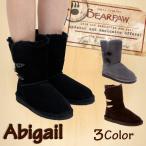 【期間限定特別価格】ベアパウ BEARPAW ムートンブーツ Abigail アビゲイル トグルボタン シープスキン LOW ショート ミドル ボアブーツ (682W)