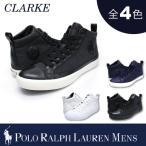 【期間限定特別価格】ポロ ラルフローレン メンズ POLO Ralph Lauren MEN'S ハイカットスニーカー クラーク CLARKE キャンバス ヘザー ポニー レースアップ