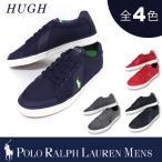【期間限定特別価格】ポロ ラルフローレン メンズ POLO Ralph Lauren MEN'S スニーカー ヒュー HUGH ピケナイロン レースアップシューズ