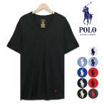 ポロ ラルフローレン Tシャツ Vネック メンズ 半袖 クラシック フィット アンダーウェア インナー 下着 綿 コットン 丸胴 刺繍