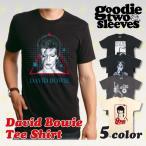 【2,000円ポッキリ!!】グッディトゥスリーブス GOODIE TWO SLEEVES デヴィッド・ボウイ 半袖Tシャツ David Bowie プリント バンド フェス メンズ レディース