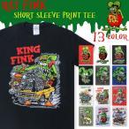 【期間限定特別価格】ラットフィンク RAT FINK 半袖 Tシャツ プリント 緑のネズミ メンズ レディース ユニセックス