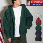 【期間限定特別価格】 キャンバー CAMBER ZIPPER HOODED 12oz 裏起毛 ジップ フード スウェット パーカ メンズ