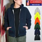 キャンバー CAMBER ジップフードパーカー チルバスター ワッフルサーマル 長袖 7.5オンス  メンズ