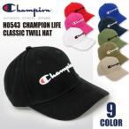 チャンピオン Champion Life ローキャップ 6パネル ロゴ ベースボール 帽子  メンズ レディース
