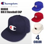 チャンピオン Champion ビッグ C ロゴ ベースボールキャップ 刺繍 スナップバック 6パネル 帽子 ユニセックス