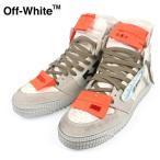 オフホワイト OFF-WHITE スニーカー メンズ ハイカット OFF COURT SNEAKER WHITE IRIDESCENTE OMIA065F 198000390118 靴