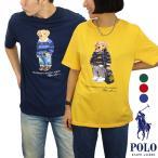 ポロ ラルフローレン ボーイズサイズ トップス 半袖 Tシャツ 薄手 メンズ レディース ユニセックス ポロベア カジュアル (799045)