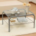 シンプルでおしゃれなガラステーブル 新生活