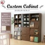 アイリスオーヤマ リビング収納 choice cabinet 6シリーズ 2カラー