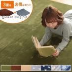 ラグ カーペット 洗える ラグマット 200×250 2点セット 滑り止め付 おしゃれ ラグ 3畳 即暖 ホットカーペット対応 床暖房対応 抗菌防臭 リビング 1人暮らし