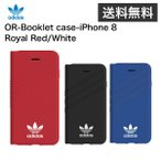 adidas OR-Booklet case-iPhone 8-Royal Red/White