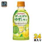 ポッカサッポロ ぽっかぽかゆずレモン 345ml ペットボトル 24本入