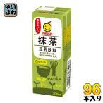 マルサン 豆乳飲料 抹茶 200ml 紙パック 96本 (24本入×4 まとめ買い)