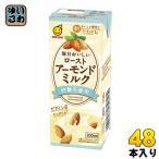 マルサンアイ 毎日おいしい ローストアーモンドミルク 砂糖不使用 200ml 紙パック 48本 (24本入×2 まとめ買い)