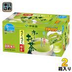 伊藤園 お〜いお茶さらさら抹茶入り緑茶 100本 1箱入×2 まとめ買い
