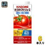 ショッピングトマトジュース カゴメ トマトジュース 1L 紙パック 6本入 (野菜ジュース)〔トマトジュース 無塩〕