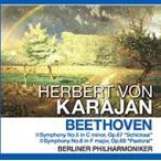 ベートーヴェン 運命 田園 ヘルベルト・フォン・カラヤン 指揮 (CD)PCD-402-KEEP