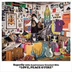 (おまけ付)Superfly 10th Anniversary Greatest Hits『LOVE, PEACE & FIRE』 (初回限定盤) / Superfly スーパーフライ (4CD) WPCL-12617-SK