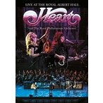 LIVE AT THE ROYAL ALBERT HALL WITH THE ROYAL PHILHARMONIC ORCHESTRA / HEART ハート(輸入盤) (DVD) 5034504126473-JPT