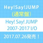 (おまけ付)Hey! Say! JUMP 2007-2017 I/O(通常盤) / Hey!Say!JUMP (CD) JACA-5706-SK