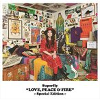 (おまけ付)LOVE, PEACE & FIRE -Special Edition- / Superfly スーパーフライ (CD) WPCL-12828-SK