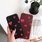 iPhone11 Pro ケース シリコン iPhone8 XR ケース iPhone7 Plus XS Max X 6s スマホ 携帯 iPhoneケース ハート