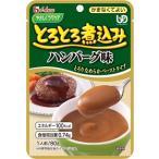 ハウス とろとろ煮込みのハンバーグ 80g【6袋セット】ハウス食品 介護食 レトルト【YS】