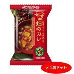 畑のカレー ひきわり豆のトマトカレー 39g【4食セット】 アマノフーズ フリーズドライ【TM】