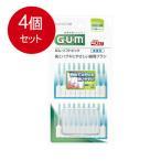 【メール便送料無料】4個セット サンスター GUM ガム歯周プロケア ソフトピック 無香料 SS-Mサイズ 40本入