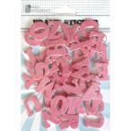 Paper Intelligence フォーミィステッカー Glitter POP ホットピンク 4105800メーカー直送KO  代引き・ラッピング・キャンセル不可