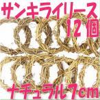 「即納」 40%OFF サンキライ リース 7cm 「ナチュラル 袋 12個入」 プリザーブドフラワー 花材 材料 デコ 大地農園
