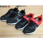 セール Reebok ALMOTIO 3.0 BLACK/WHITE(CN3824)・BLACK/RED(CN3823)リーボック アルモティオ キッズ 軽量ランニングシューズ(17cm-22cm)