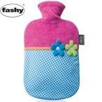 ファシー カラフルフラワー湯たんぽ fashy 防寒対策 ソフト 水枕 氷枕 正規品