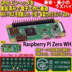 �饺�٥�ѥ� ���� Raspberry Pi Zero WH (WiFi��BLE��� ���� ������ �饺�ѥ� Zero W�Υԥ�إå������Ѥ���)