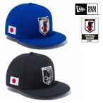 NEWERA ニューエラ 9FIFTY サッカー日本代表 ver.ブルー ブラック 青 黒 スナップバックキャップ SNAPBACK CAP 950 サイズ調節可能 メンズ 男性 レディース 女