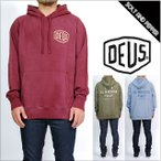 DEUS EX MACHINA デウスエクスマキナ SUNBLEACHED VENICE HOODIE L/S SWEAT LONG SLEEVES MAROON OLIVE BLUE パーカー フーディ スェット 裏起毛 トッ