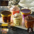 お中元 2021 GODIVA ゴディバ アイス ギフトセット カップアイス 6個 送料無料 メーカー直送 内祝い 出産内祝い 結婚内祝い*d-M-GIS-40*