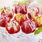 アイス 花いちごのバラエティアイス(博多あまおう)(11個)(送料無料)(メーカー直送)*d-M-sha-A-DR*