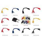 送料無料 ICARSCANNER Multi Function Automotive Circuit Tester Lead Kit Contains