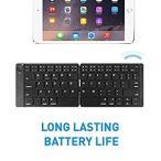 送料無料 Macally Universal Foldable Bluetooth Keyboard   Portable Folding and W
