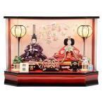 雛人形 No.306-134 アクリルケース飾り 小三五サイズ 親王飾り ひな人形