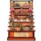 No.305-27 雛人形 送料無料 伝統的スタイルの雛人形 華やかな7段飾り 数量限定 初節句 お祝い おひなさま ひな人形